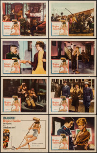 """Babette Goes to War (Columbia, 1960). Lobby Card Set of 8 (11"""" X 14""""). Comedy. ... (Total: 8 Items)"""