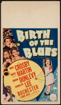 "Movie Posters:Musical, Birth of the Blues (Paramount, 1941). Midget Window Card (8"" X 14""). Musical.. ..."