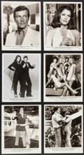 "Movie Posters:James Bond, Moonraker (United Artists, 1979). Photos (24) (approx. 8"" X 10"").James Bond.. ... (Total: 24 Items)"