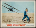 """Movie Posters:Hitchcock, North by Northwest (MGM, R-1966). Lobby Card (11"""" X 14""""). Hitchcock.. ..."""
