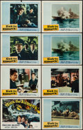 """Movie Posters:War, Sink the Bismarck! (20th Century Fox, 1960). Lobby Card Set of 8(11"""" X 14""""). War.. ... (Total: 8 Items)"""