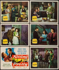 """Movie Posters:Comedy, Sitting Pretty (20th Century Fox, 1948). Title Lobby Card & Lobby Cards (5) (11"""" X 14""""). Comedy.. ... (Total: 6 Items)"""