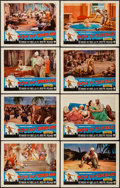 "Movie Posters:Fantasy, Son of Sinbad (RKO, 1955). Lobby Card Set of 8 (11"" X 14""). Fantasy.. ... (Total: 8 Items)"