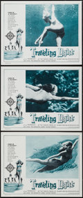 "Movie Posters:Sexploitation, Traveling Light (Victoria Films, 1963). Lobby Cards (3) (11"" X14""). Sexploitation.. ... (Total: 3 Items)"