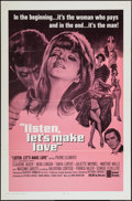 "Movie Posters:Foreign, Listen, Let's Make Love & Others Lot (United Artists, 1969). One Sheets (2) (27"" X 41""), Insert (14"" X 36""), Lobby Card Set ... (Total: 13 Items)"