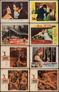 "Movie Posters:Adventure, Tarzan's Greatest Adventure & Others Lot (Paramount, 1959).Lobby Cards (15) (11"" X 14""). Adventure.. ... (Total: 15 Items)"