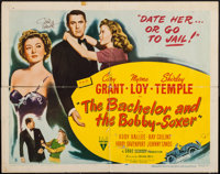 """The Bachelor and the Bobby Soxer (RKO, 1947). Autographed Half Sheet (22"""" X 28"""") Style B. Comedy"""
