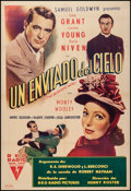 "Movie Posters:Comedy, The Bishop's Wife (RKO, 1948). Argentinean Poster (29.5"" X 43.25""). Comedy.. ..."