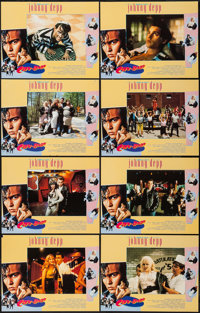 """Cry-Baby & Other Lot (Universal, 1990). International Lobby Card Sets of 8 (2) (11"""" X 14""""). Comedy. ... (T..."""