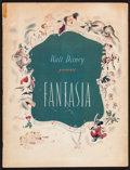 """Movie Posters:Animation, Fantasia (RKO, 1940). Program (28 Pages, 9.75"""" X 12.75"""").Animation.. ..."""