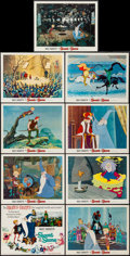 "Movie Posters:Animation, The Sword in the Stone (Buena Vista, R-1972). Lobby Card Set of 9 (11"" X 14""). Animation.. ... (Total: 9 Items)"
