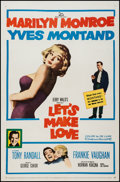 "Movie Posters:Comedy, Let's Make Love (20th Century Fox, 1960). One Sheet (27"" X 41"").Comedy.. ..."