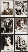 Movie Posters:Musical, Big Band and Entertainers Lot (1920s-1950s). Portrait and Scene Photos (86) (Various Sizes). Musical.. ... (Total: 86 Items)
