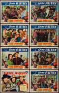 "Movie Posters:Western, The Old Barn Dance (Republic, 1938). Lobby Card Set of 8 (11"" X 14""). Western.. ... (Total: 8 Items)"