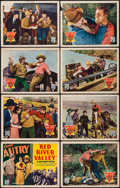 """Movie Posters:Western, Red River Valley (Republic, 1936). Lobby Card Set of 8 (11"""" X 14""""). Western.. ... (Total: 8 Items)"""
