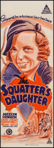 "Movie Posters:Drama, The Squatter's Daughter (Associated Distributors, 1933). Australian Daybill (14.5"" X 39.5""). Drama.. ..."