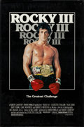 "Movie Posters:Sports, Rocky III & Others Lot (United Artists, 1982). One Sheets (4) (27"" X 39"", 27"" X 40"", & 27"" X 41"") SS, South African One Shee... (Total: 6 Items)"