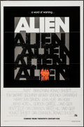 "Movie Posters:Science Fiction, Alien (20th Century Fox, 1979). One Sheet (27"" X 41"") Flat FoldedTeaser. Science Fiction.. ..."