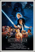 """Movie Posters:Science Fiction, Return of the Jedi (20th Century Fox, 1983). One Sheet (27"""" X 41"""")Style B. Science Fiction.. ..."""