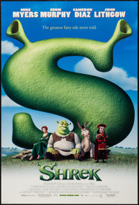 "Shrek & Others Lot (DreamWorks, 2001). One Sheets (3) (27"" X 40"") DS Regular & Advance. Animation..."