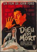"Movie Posters:Drama, The Fugitive (RKO, 1947). French Grande (45.75"" X 62.25""). Drama....."