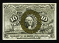Fractional Currency:Second Issue, Fr. 1249 10c Second Issue Gem New. One of the two or three nicest examples that we've seen of this Fiber Paper 10c note. The...
