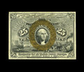 Fractional Currency:Second Issue, Fr. 1286 25c Second Issue Gem New. This is a well bronzed example that has even margins surrounding crisp surfaces. The back...