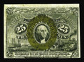 Fractional Currency:Second Issue, Fr. 1290 25¢ Second Issue Choice New. The note has a little natural wrinkling, which is quite typical on high-grade Fiber Pa...