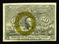 Fractional Currency:Second Issue, Fr. 1317 50c Second Issue Choice New. This is an exciting note that not only has a partial plate number in the lower left-ha...