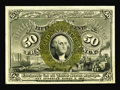 Fractional Currency:Second Issue, Fr. 1322 50¢ Second Issue Gem New. Excellent margins and outstanding bronzing are the highlights of this Fiber Paper 50¢ not...