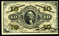 Fractional Currency:Third Issue, Fr. 1254 10¢ Third Issue Very Choice New. A pristine little note that would be a full-blown Gem if the adequate top and righ...