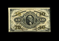 Fractional Currency:Third Issue, Fr. 1254 10c Third Issue Choice About New. Two corner bends are noted and account for the grade. Aside from these two bends,...