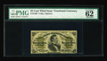 """Fractional Currency:Third Issue, Fr. 1299 25¢ Third Issue PMG Uncirculated 62. Aged and with a few minor edge problems. PMG comments, """"Splice On Top."""" 1299's..."""
