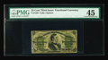 Fractional Currency:Third Issue, Fr. 1299 25¢ Third Issue PMG Choice Extremely Fine 45. The surcharges have toned a little toward the green on this otherwise...