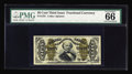 """Fractional Currency:Third Issue, Fr. 1331 50¢ Third Issue Spinner PMG Gem Uncirculated 66. The highly positive comments, """"Vivid Details, Great Margins,"""" appe..."""