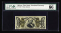 Fractional Currency:Third Issue, Fr. 1339 50c Third Issue Spinner Type II PMG Gem Uncirculated 66. PMG really liked this one, as it carries the double commen...