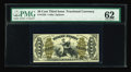 Fractional Currency:Third Issue, Fr. 1358 50c Third Issue Justice PMG Uncirculated 62. A vibrant green back Justice note with a full right side margin and a ...