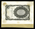 Fractional Currency:Fifth Issue, 10¢ Fifth Issue Off-Color Proof. Printed in black on India paper, which is mounted to a card which in turn is mounted to hea...