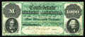 T1 $1,000 1861. The Montgomery issue $1000 was the only type of this denomination issued by the Confederacy, and was the...