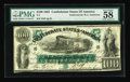 """Confederate Notes:1861 Issues, T5 $100 1861. This beautiful issue, known as the """"First Richmond"""" issue, was printed by the Southern Bank Note Company (the ..."""