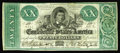 Confederate Notes:1861 Issues, T21 $20 1861. The green ink is inviting on this $20 that has three margins completely outside the frame line. Fine-Very Fi...