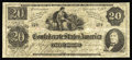 Confederate Notes:1862 Issues, T47 $20 1862. The T47 and T48 types were listed as legitimateissues for years in Criswell. We know more about these types n...
