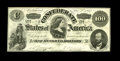 Confederate Notes:1862 Issues, T49 $100 1862. Even circulation with light folds are found on thisVery Fine C-note that also exhibits an approximate ha...
