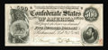 Confederate Notes:1864 Issues, T64 $500 1864. Two faint folds are noted only from the back. The paper is exquisite and unmolested. Additionally a partial P...