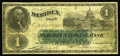 Obsoletes By State:Connecticut, Meriden, CT- Wilcox & Co. (Meriden National Bank) $1 Oct. 8, 1873. This piece was issued by a private firm in clear violatio...