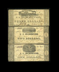Obsoletes By State:Louisiana, New Orleans, LA- J.J. McKeever $1 Dec. 24, 1861, $2 Dec. 23, 1861, $3 Jan. 18, 1862 UNL. The $1 and $2 issues of this scrip ... (Total: 3 notes)