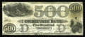 Obsoletes By State:Massachusetts, Boston, MA- Cochituate Bank $500 Nov. 1, 1853 Haxby UNL. This $500has the design of Haxby G18, but with the state identifie...