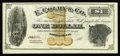 Obsoletes By State:Michigan, Ionia, MI- E. Colby & Co. $1 Bowen 3. The first of a rare set of scrip issues from this company, which was in operation from...