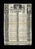 Obsoletes By State:New Hampshire, Portsmouth, NH- Piscataqua Exchange Bank $1 G2. Forty-nine pieces of this remainder note which now retail for about $50 each... (Total: 49 )