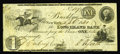 Obsoletes By State:New York, Brooklyn, NY- Long Island Bank $1 Sept. 6, 1841 G2. An extremelyrare Brooklyn note which is listed as SENC in the Haxby ref...